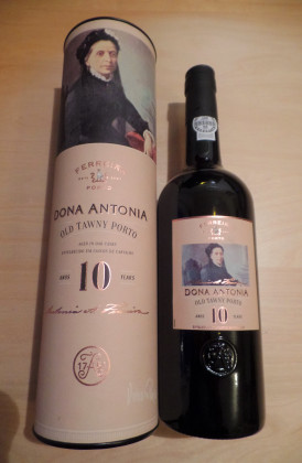 "Ferreira ""10 Years Old Tawny"" Dona Antonio voorheen Quinta do Porto"