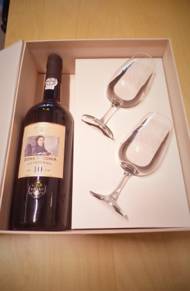 "Ferreira ""Dona Antonia 10 Years Old Tawny Port"" in geschenkverpakking."