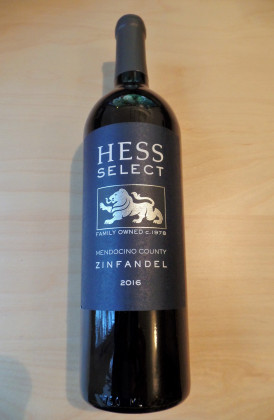 "Hess Family ""Select Zinfandel"", Mendocino County, Californië"