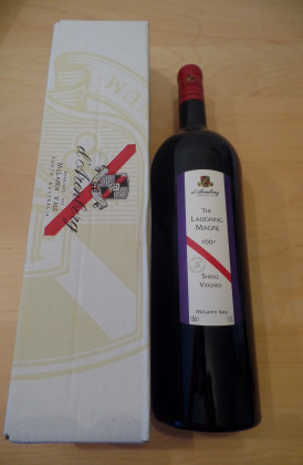 "d'Arenberg ""The Laughing Magpie"" Shiraz/Viognier, magnum 1.5Ltr."