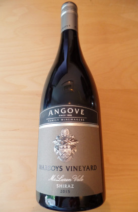 "Angove Family Winemakers ""Warboys Vineyard Shiraz"""", Organic McLaren Vale, Australië"