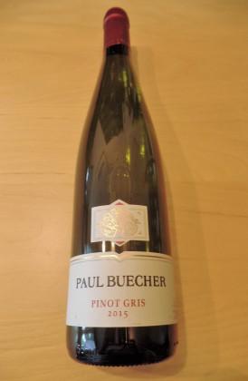 """Paul Buecher """"Pinot Gris d'Alace"""" Reserve Personnelle"""