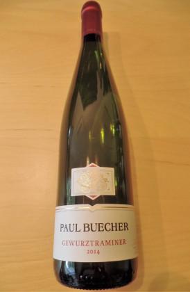 """Paul Buecher """"Gewürztraminer d'Alsace"""" Reserve Personnelle"""