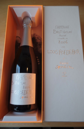 "Louis Roederer ""Brut Nature Philippe Starck"""