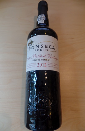 "Fonseca ""Unfiltered Late Bottled Vintage"" port"