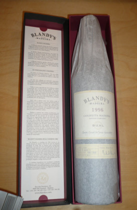 "Blandy's ""Bual"" Single Harvest Colheita 0.50Ltr."