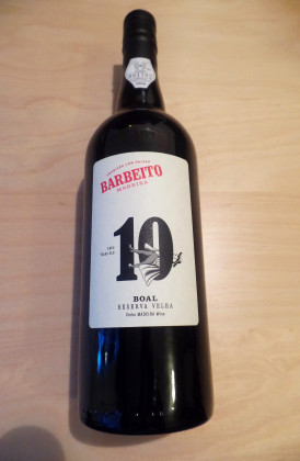 "Barbeito ""10 Years Old Boal"", 0.75Ltr."