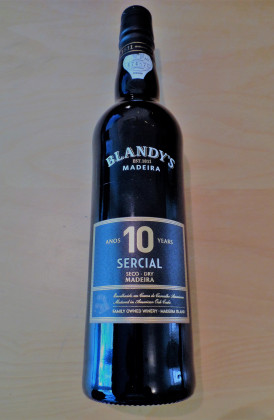 "Blandy's ""Sercial 10 Years Old"" 0.50Ltr."