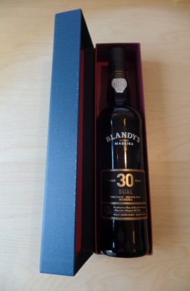 "Blandy's ""Bual 30 years Old"" medium rich 0.50Ltr."