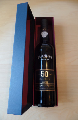 "Blandy's ""Malmsey 50 Years Old"" Rich/Doce  0.50Ltr."