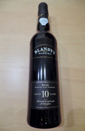 "Blandy's ""Bual 10 Years Old"" 0.50Ltr."
