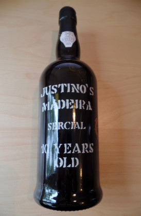 "Justino's ""Sercial 10 Years Old"", Madeira"