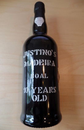 "Justino's ""Bual 10 Years Old"" Madeira"