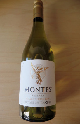 "Montes Reserva ""Chardonnay"", Valle Central, Chili"