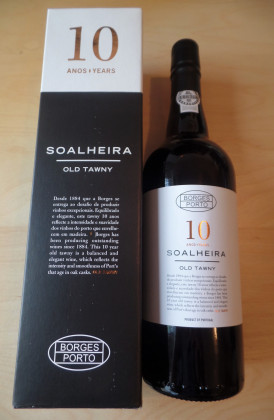 "Borges ""Soalheira 10 Years Old Tawny"" port"