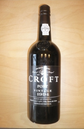 "Croft ""Vintage"" port"