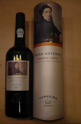 "Ferreira ""Dona Antonia 7 Years Old Tawny'"" port"