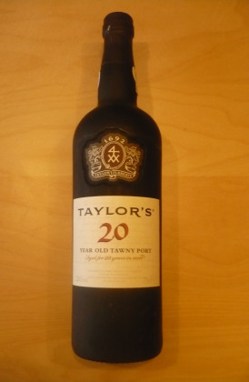 "Taylor's ""20 Years Old Tawny"" port"