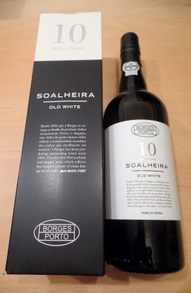 "Borges ""Soalheira 10 Years Old White"" port"