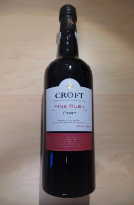"Croft ""Fine Ruby"" Port"