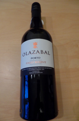 "F.Olazabal e Filhos ""Finest Reserve Ruby"" port"