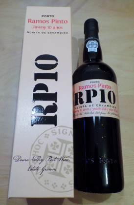 "Ramos Pinto ""Quinta de Ervamoira"" 10 Years Old Tawny port"