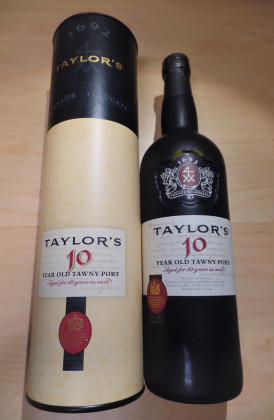 "Taylor's ""10 Years Old Tawny"" port"