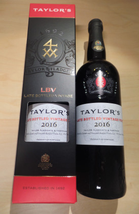 "Taylor's ""Late Bottled Vintage"" port"