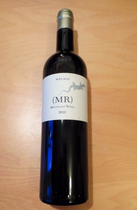 "Telmo Rodriguez ""MR Mountain Wine"", Málaga 0.50Ltr."